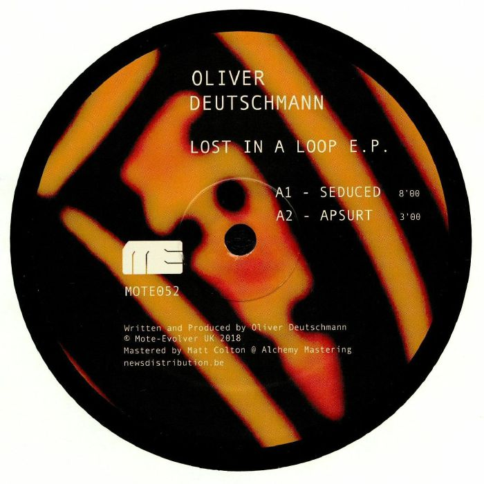 DEUTSCHMANN, Oliver - Lost In A Loop EP