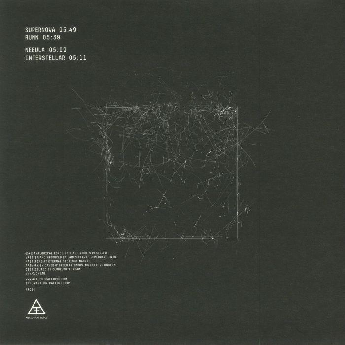 SHINRA, James - Supernova EP