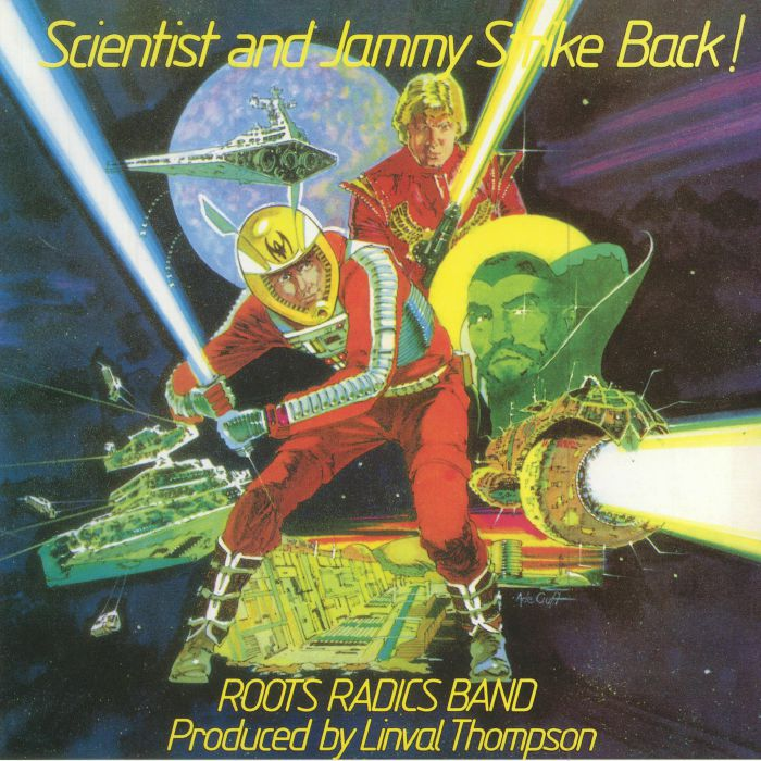 SCIENTIST/PRINCE JAMMY - Scientist & Jammy Strike Back! (reissue)