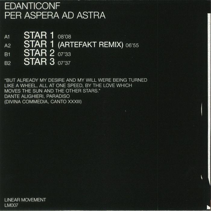 EDANTICONF - Per Aspera Ad Astra