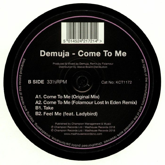 DEMUJA - Come To Me