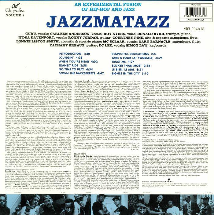 GURU - Jazzmatazz Vol 1: 25th Anniversary Edition (reissue)