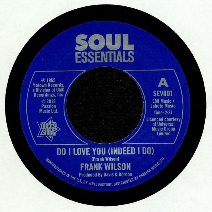 WILSON, Frank - Do I Love You (Indeed I Do)