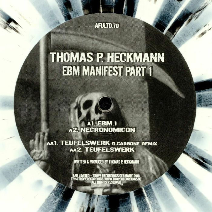 HECKMANN, Thomas P - EBM Manifest Part 1
