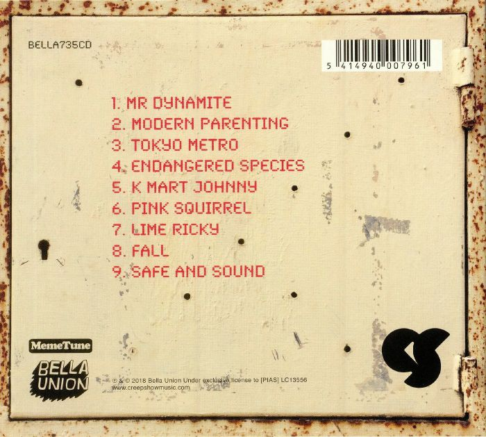 CREEP SHOW - Mr Dynamite