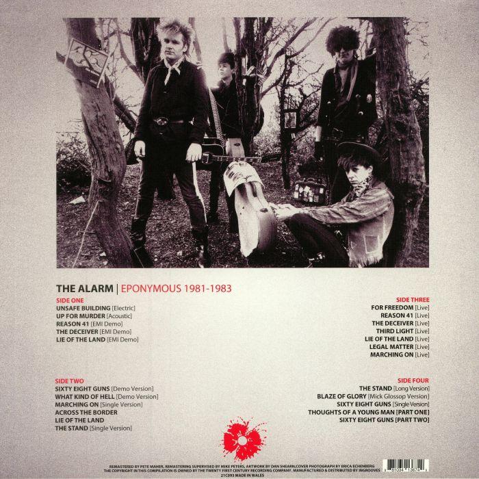 The ALARM Eponymous 1981 1983 vinyl at Juno Records