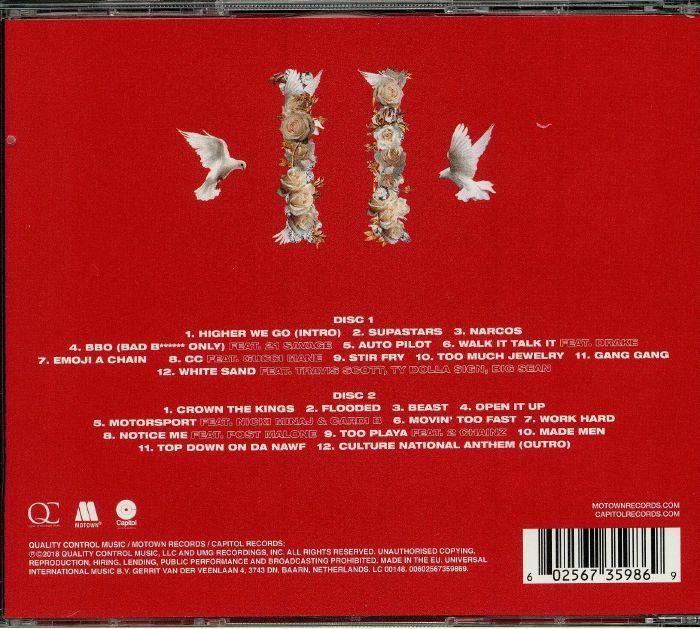 MIGOS Culture II vinyl at Juno Records