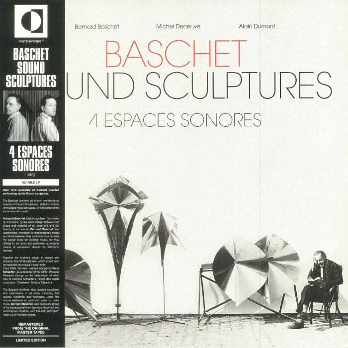 BASCHET, Bernard/MICHEL DENEUVE/ALAIN DUMONT - 4 Espaces Sonores (remastered)