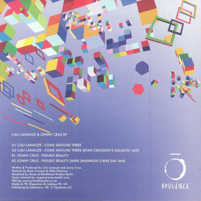 LANAUZE, Cali/JONNY CRUZ - Cali Lanauze & Jonny Cruz EP