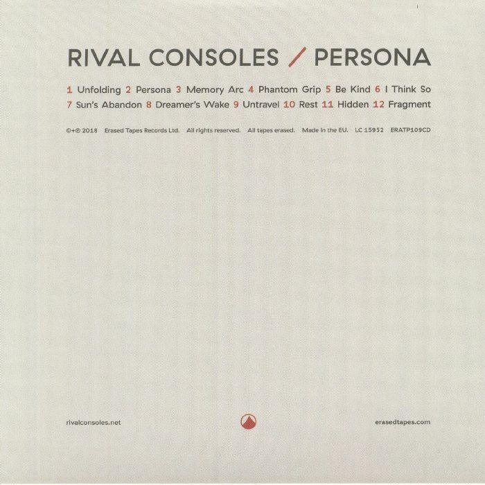 RIVAL CONSOLES - Persona