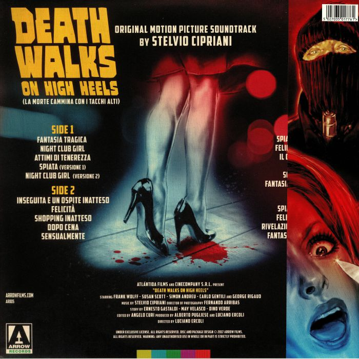 CIPRIANI, Stelvio - Death Walks On High Heels (Soundtrack)