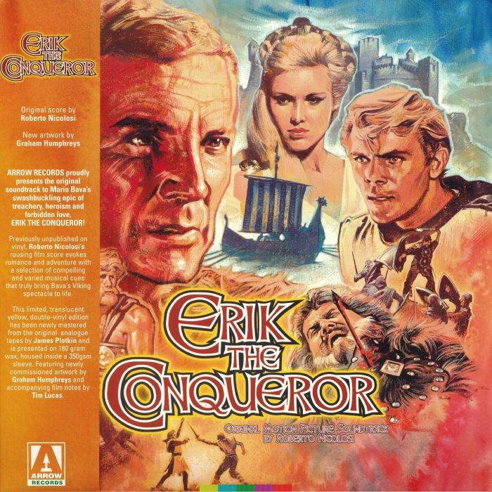 NICOLOSI, Roberto - Erik The Conqueror (Soundtrack)