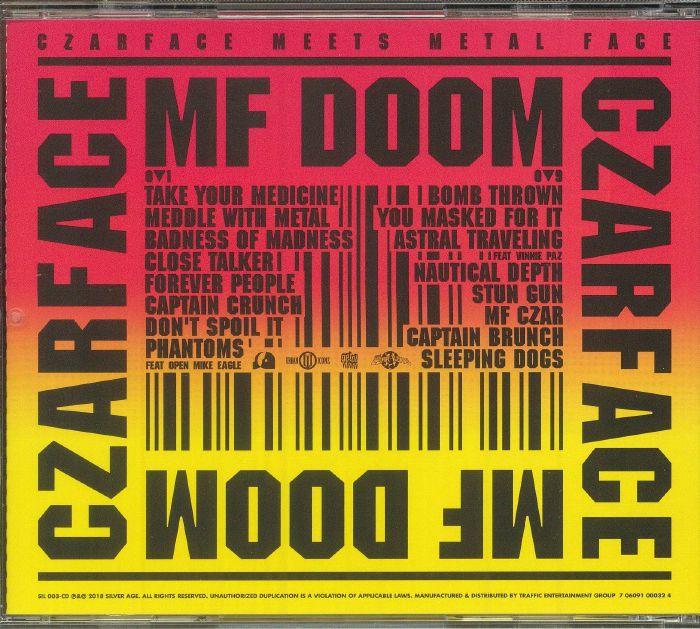 CZARFACE/MF DOOM - Czarface Meets Metal Face