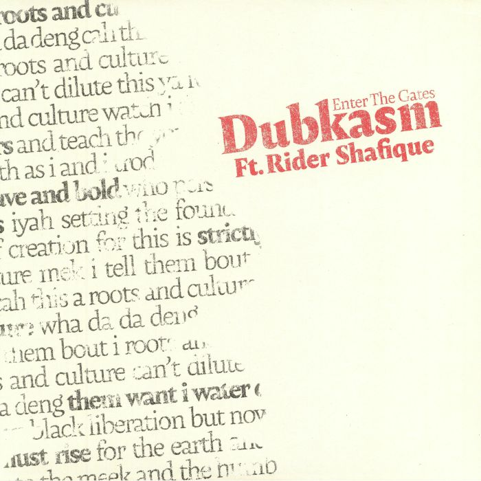DUBKASM feat RIDER SHAFIQUE - Enter The Gates