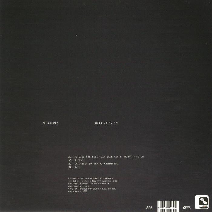 METABOMAN - Nothing In It