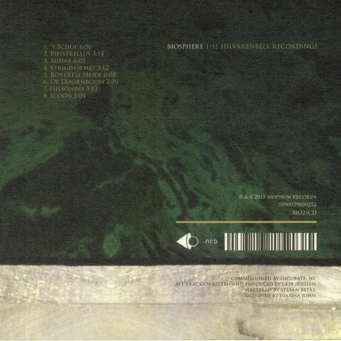 BIOSPHERE - The Hilvarenbeek Recordings