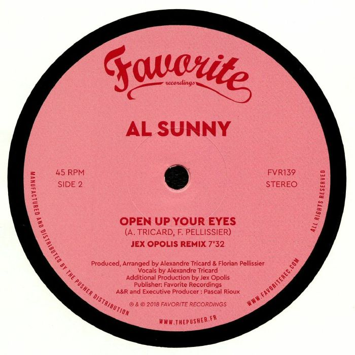 SUNNY, Al - Open up Your Eyes (remixes)