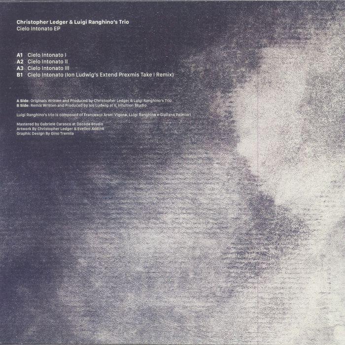 LEDGER, Christopher/LUIGI RANGHINO'S TRIO - Cielo Intonato EP