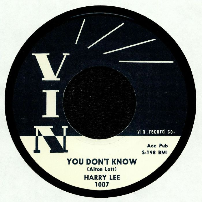 LEE, Harry - You Don't Know