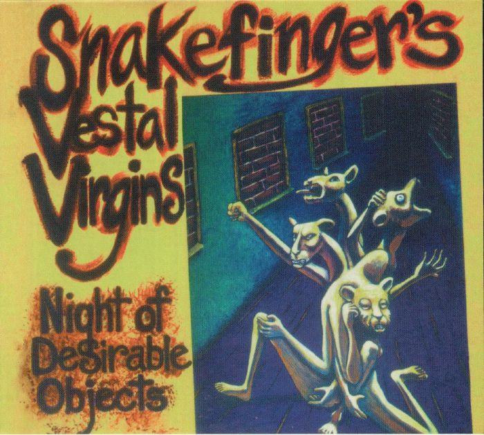 SNAKEFINGER - Vestal Virgins: Night Of Desirable Objects