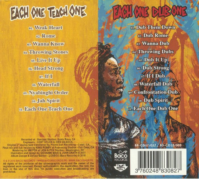 GROUNDATION - Each One Teach One: Deluxe Edition
