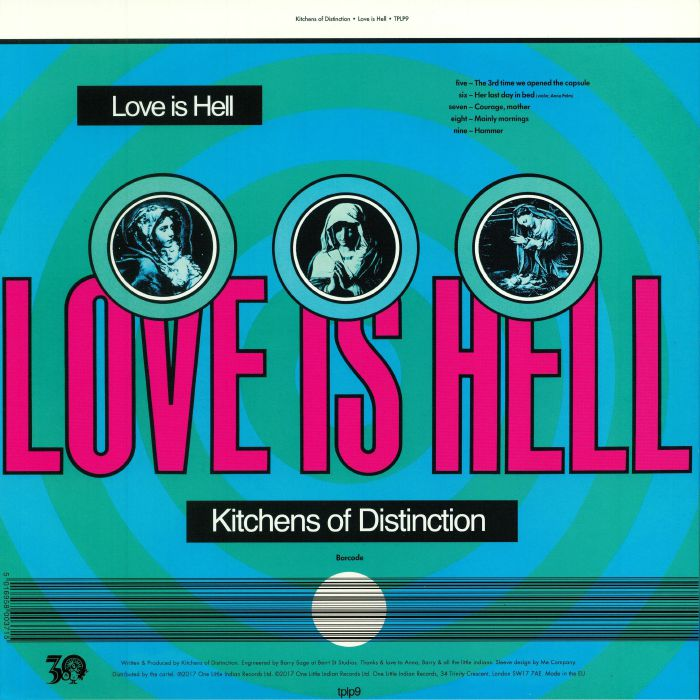 KITCHENS OF DISTINCTION - Love Is Hell (reissue)