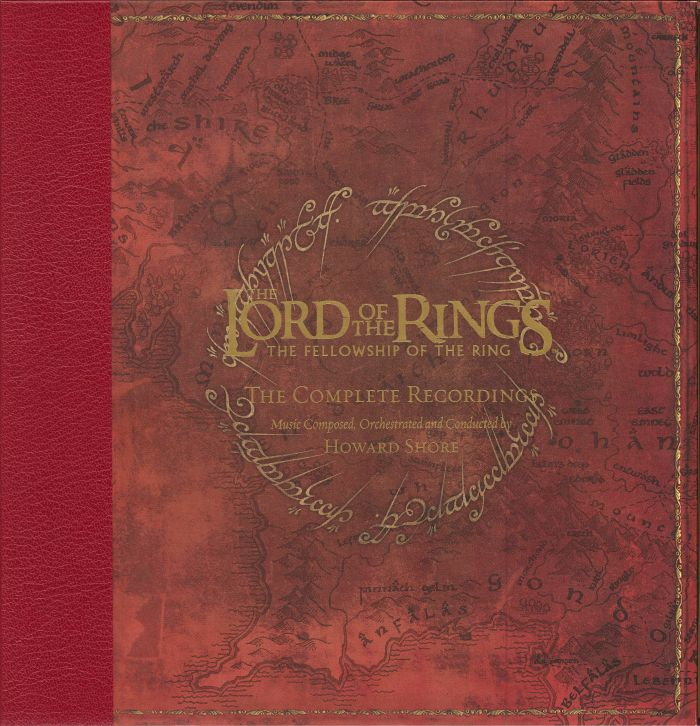 SHORE, Howard - The Lord Of The Rings: The Fellowship Of The Ring (The Complete Recordings)