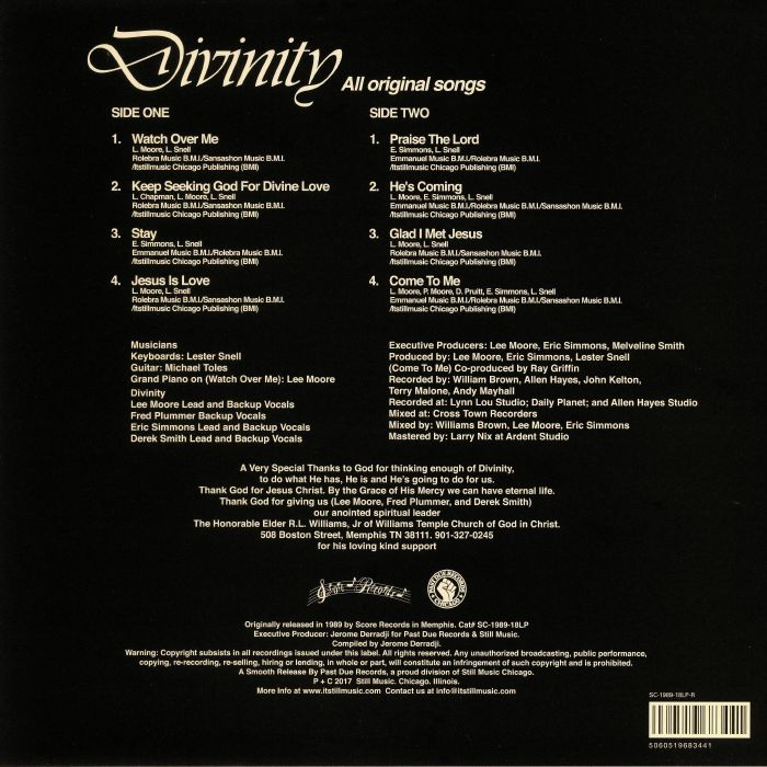DIVINITY - He's Coming