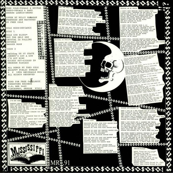 DEAD MOON Defiance (remastered) (mono) vinyl at Juno Records