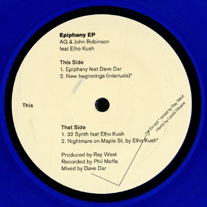 AG/JOHN ROBINSON feat ELHO KUSH - Epiphany EP