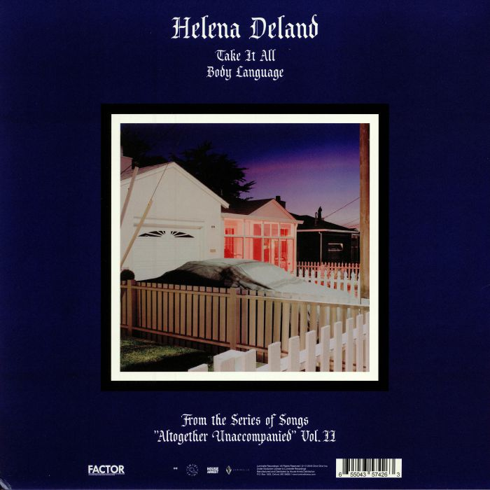 DELAND, Helena - From The Series Of Songs
