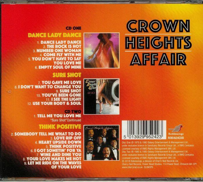 CROWN HEIGHTS AFFAIR - Dance Lady Dance/Sure Shot/Think Positive