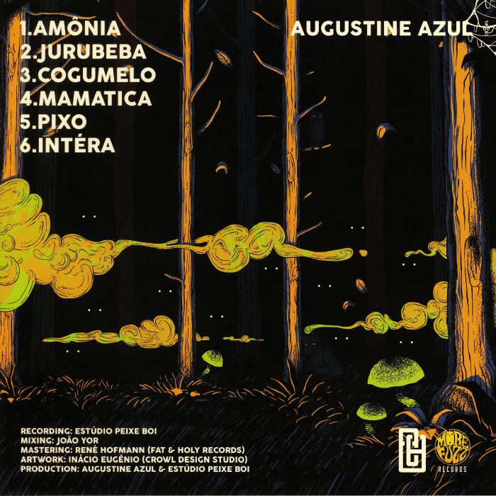 AUGUSTINE AZUL - Lombramorfose