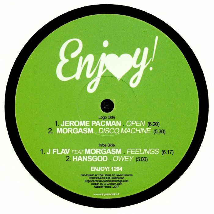 JEROME PACMAN/MORGASM/J FLAV/HANSGOD - It's All About House Music!