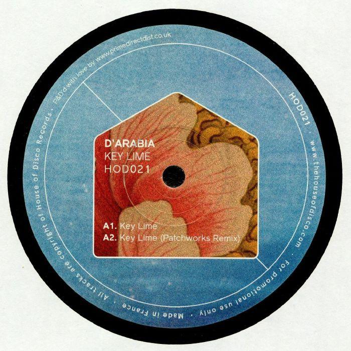 D'ARABIA - Key Lime EP