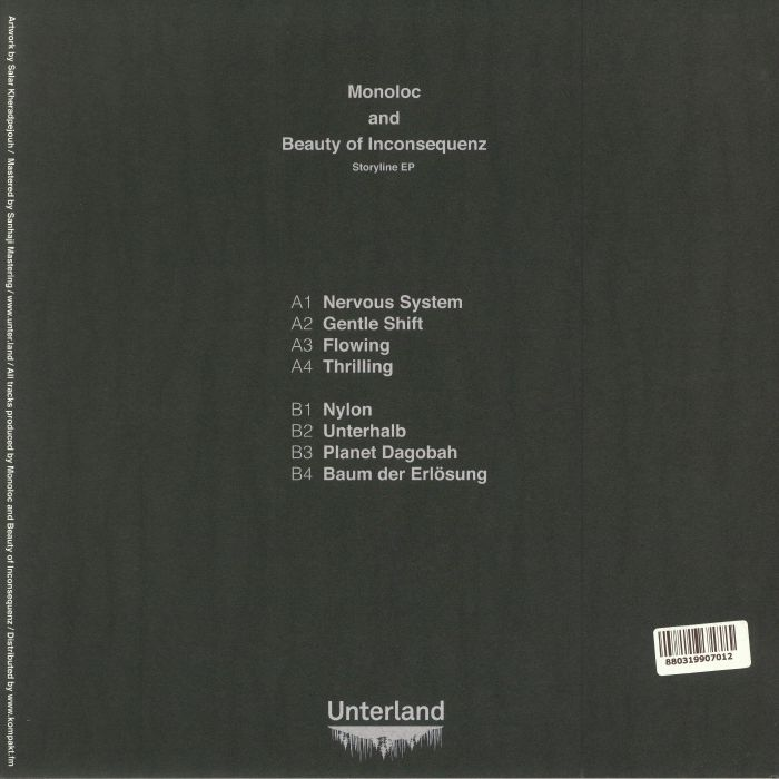 MONOLOC/BEAUTY OF INCONSEQUENZ - Storyline EP