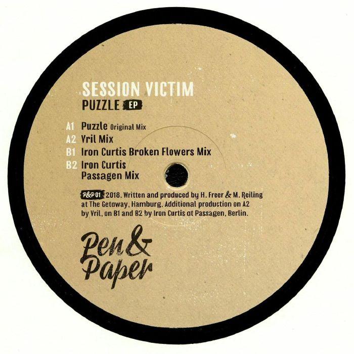 SESSION VICTIM - Puzzle EP