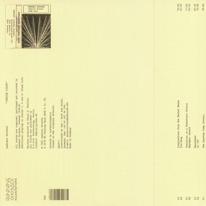 GROSSER, Andreas - Venite Visum (reissue)
