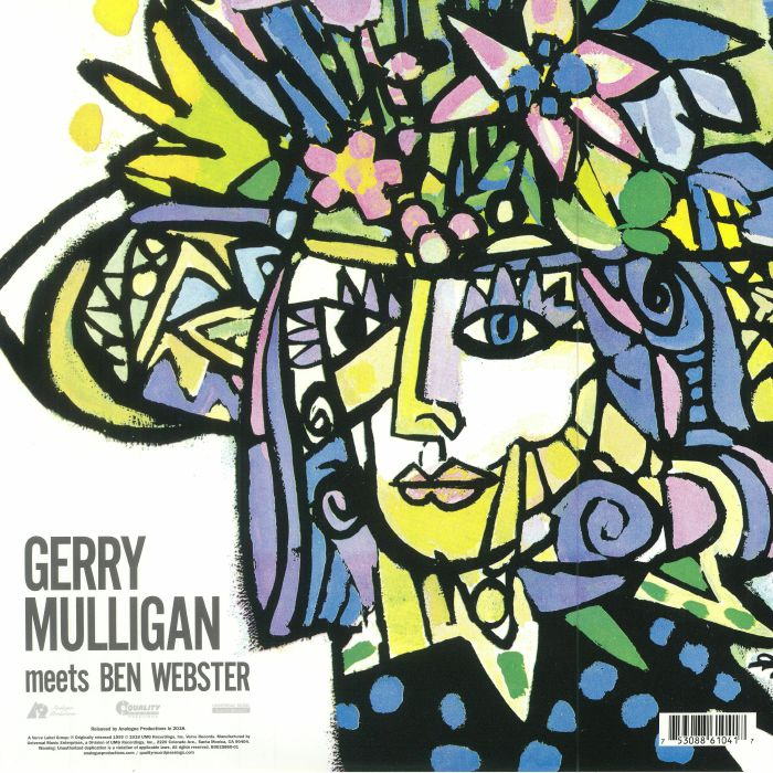 MULLIGAN, Gerry meets BEN WEBSTER - Gerry Mulligan Meets Ben Webster