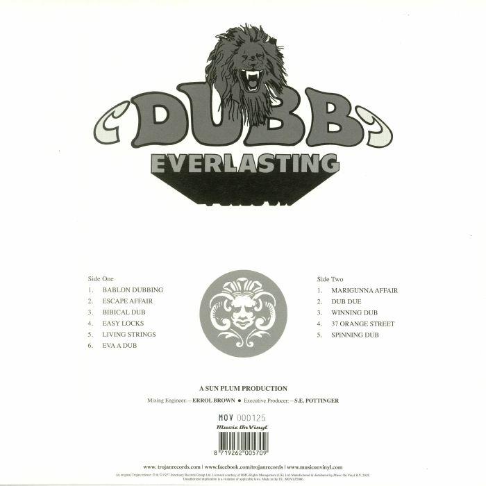 BROWN, Errol - Dub Everlasting (reissue)