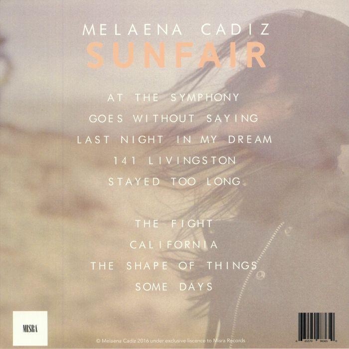 CADIZ, Melaena - Sunfair