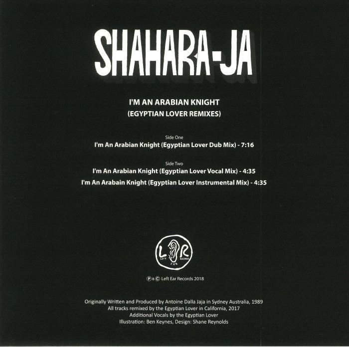 SHAHARA JA - I'm An Arabian Knight (Egyptian Lover Remixes)