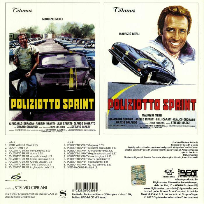 CIPRIANI, Stelvio - Poliziotto Sprint (Soundtrack)