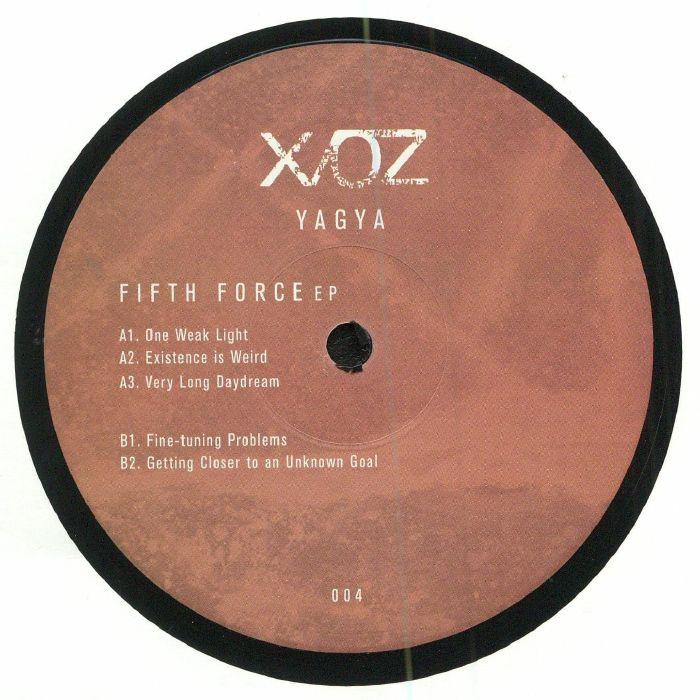 YAGYA - Fifth Force EP