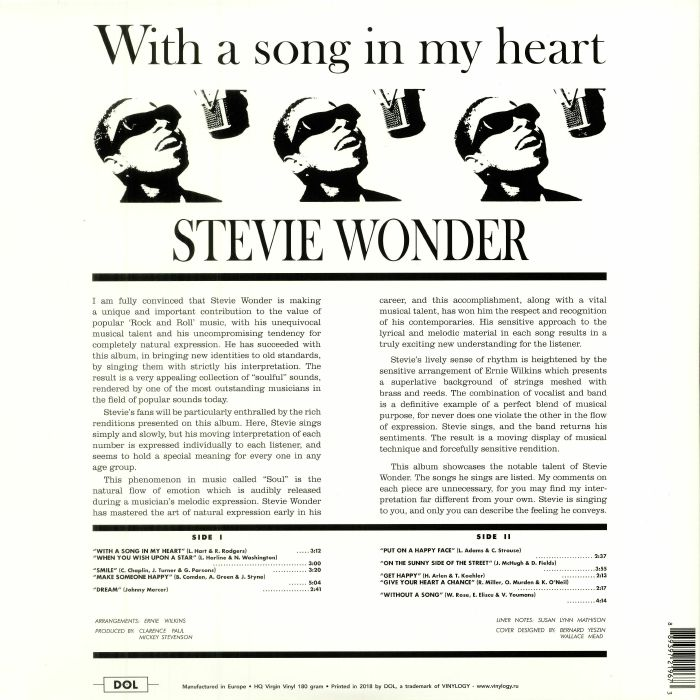 WONDER, Stevie - With A Song In My Heart: Deluxe Edition (reissue)