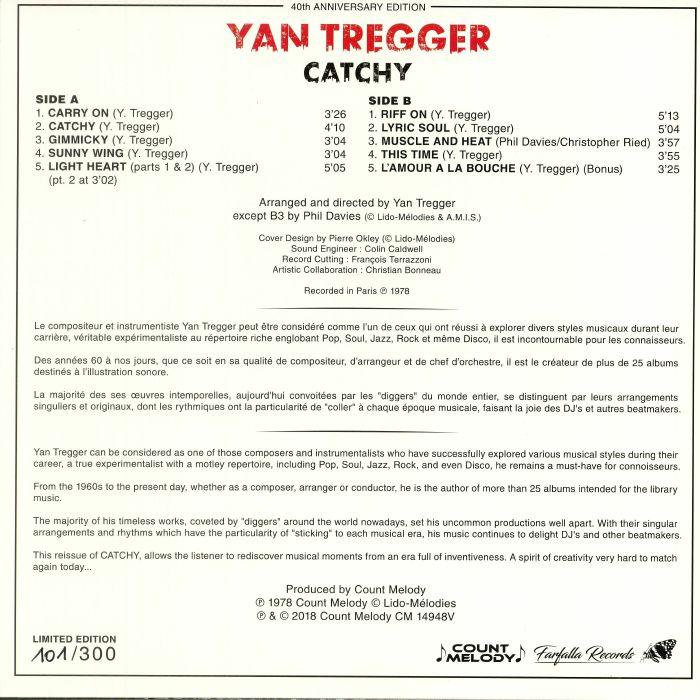 TREGGER, Yan - Catchy: 40th Anniversary Edition