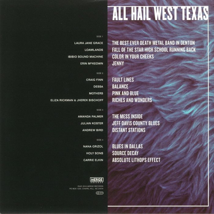 VARIOUS - I Only Listen To The Mountain Goats: All Hail West Texas