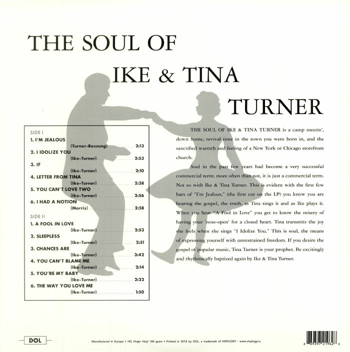IKE & TINA TURNER - The Soul Of Ike & Tina Turner: Deluxe Edition (reissue)