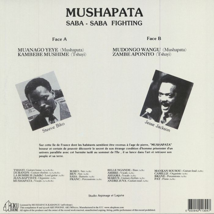 MUSHAPATA - Saba Saba Fighting