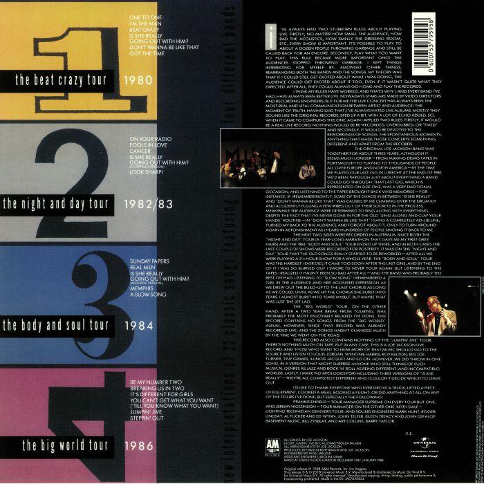 JACKSON, Joe - Live 1980/86: 30th Anniversary Edition